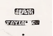 Ning Zhao Ji and Taylor & Co Chinese Export Silver silvermark
