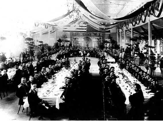 State Luncheon by Chinese Government for US Navy 1908
