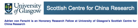 Adrien von Ferscht at University of Glasgow