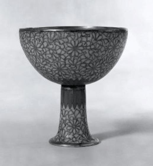 Ming Dynasty Cloisonne Stemmed Cup