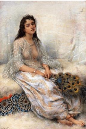 Katherine Carl painting