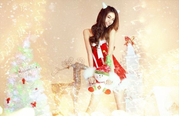 Hot_Christmas_Babe_Wang_Xi_Ran_16