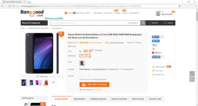 xiaomi smartphone uit china importeren