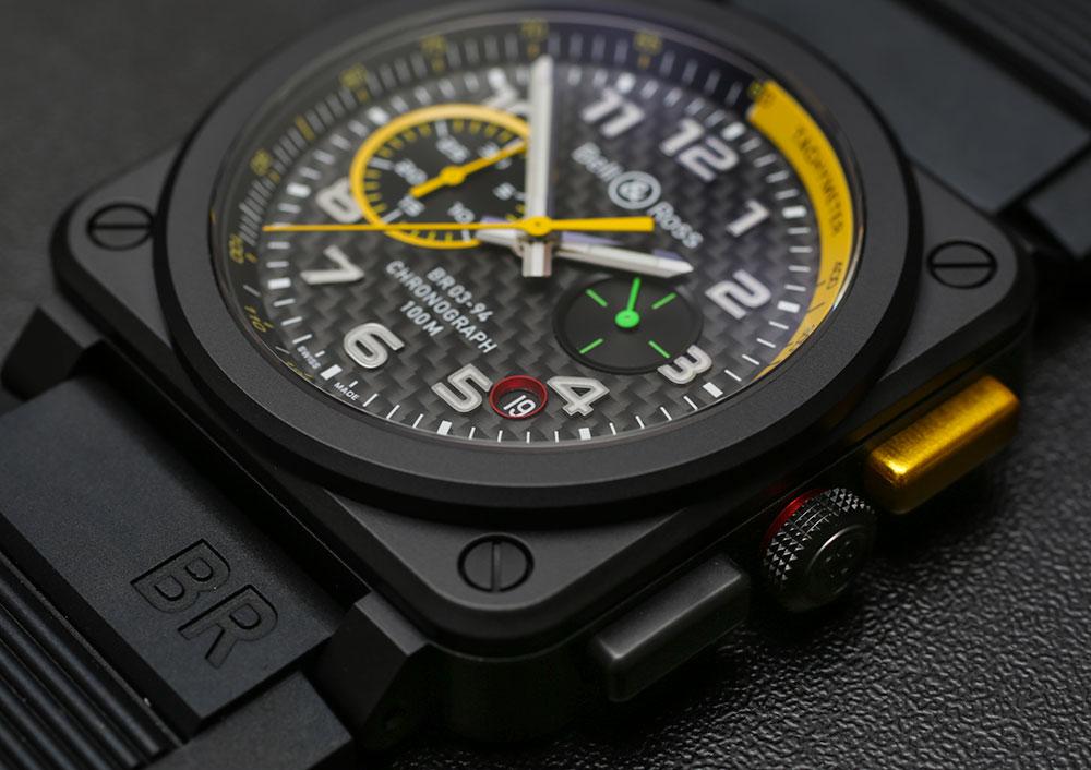 以 F1 賽車為靈感的 Bell & Ross BR RS17 腕表評測   aBlogtoWatch
