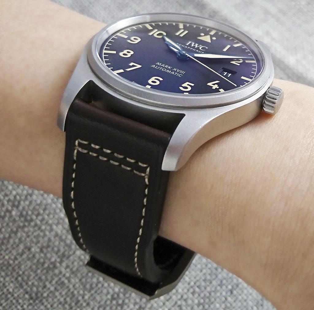 IWC Pilot's Watch Mark XVIII Heritage 腕表評測 | aBlogtoWatch