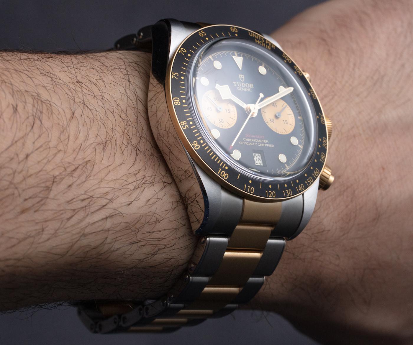 Tudor Black Bay Chrono S&G 金鋼腕表評測 | aBlogtoWatch