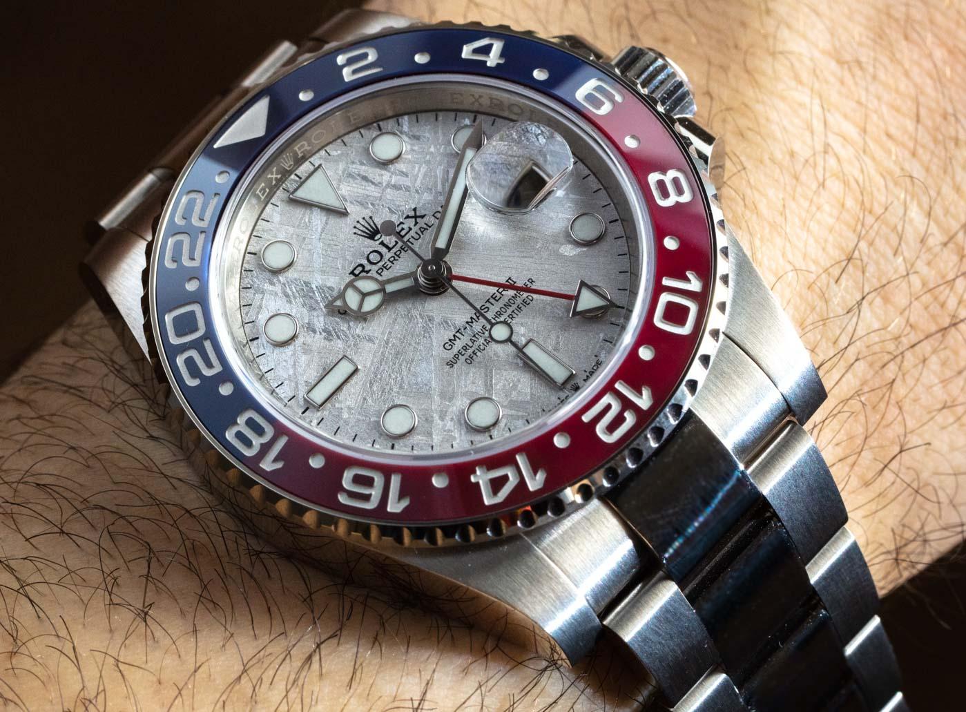 Rolex GMT-Master II 126719BLRO 「百事圈」隕石表盤腕表評測 | aBlogtoWatch