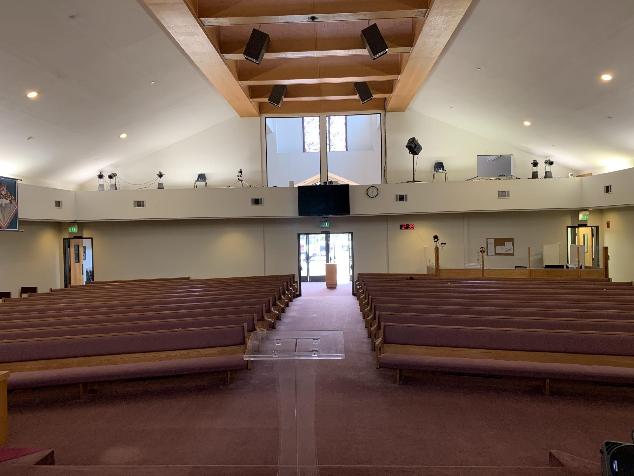 教堂建築設施改善