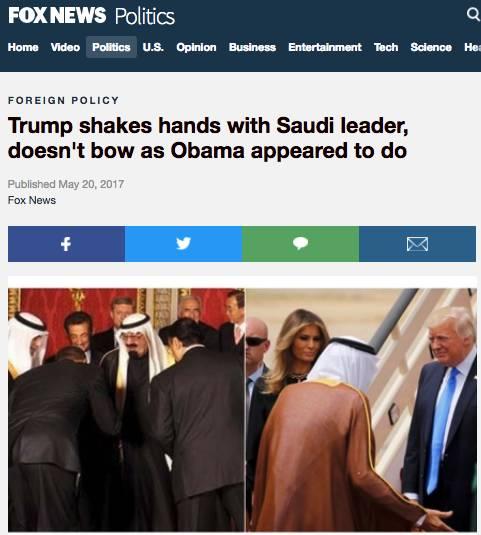 从CNN主播为爆粗向川普支持者道歉谈到川普沙特之行 | 图姐