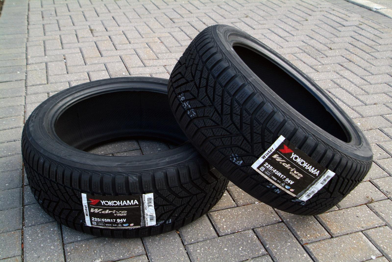 橫濱輪胎Yokohama Tire全新W.drive V905冬季雪胎測試