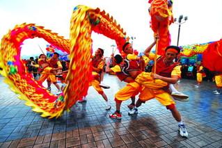 dragon dance chinese dragon