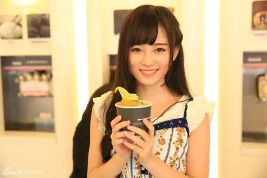Most Beautiful Chinese Women鞠婧袆 6