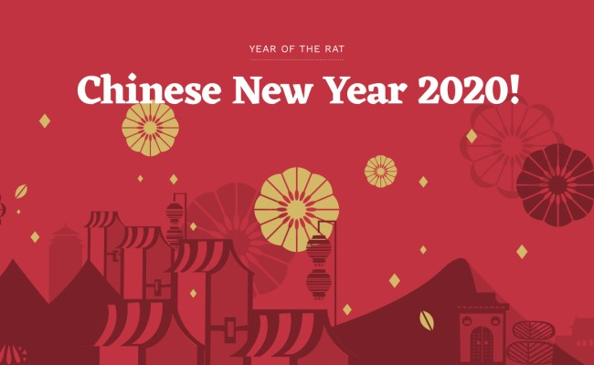 Chinese New Year 2020 Year Of The Rat