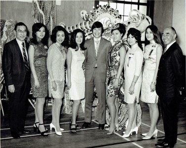 Miss Chinatown Contestants with Jackson Hu John Young Wayne Hu
