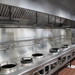 Chinese Kitchen Range Hood Free Standing Sink