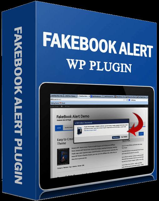 [中文WordPress外掛推薦] Fakebook Alert 繁體中文版 – 透過仿造的FB通知框來增加你的網路收入! | 中文WordPress外掛 ...