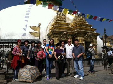 4 Swayambhu Stupa