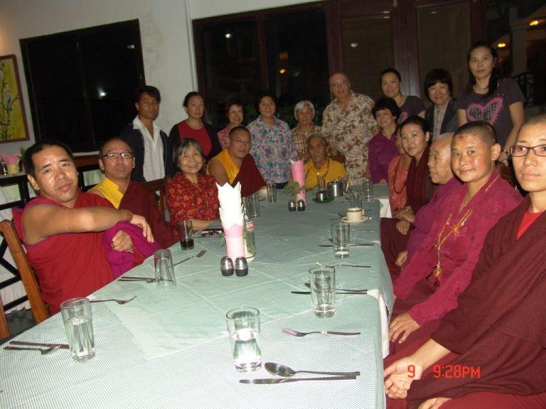 6 Grandfather Talk in Lumbini