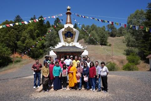 Stupa Anniversary Group