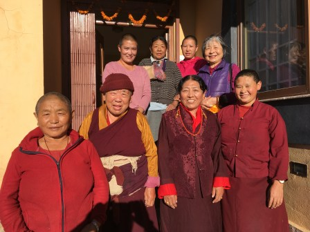 Amala-with-nuns-at-family-quarters