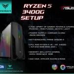Config Ryzen 5 3400G