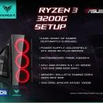 Config Ryzen 3 3200G