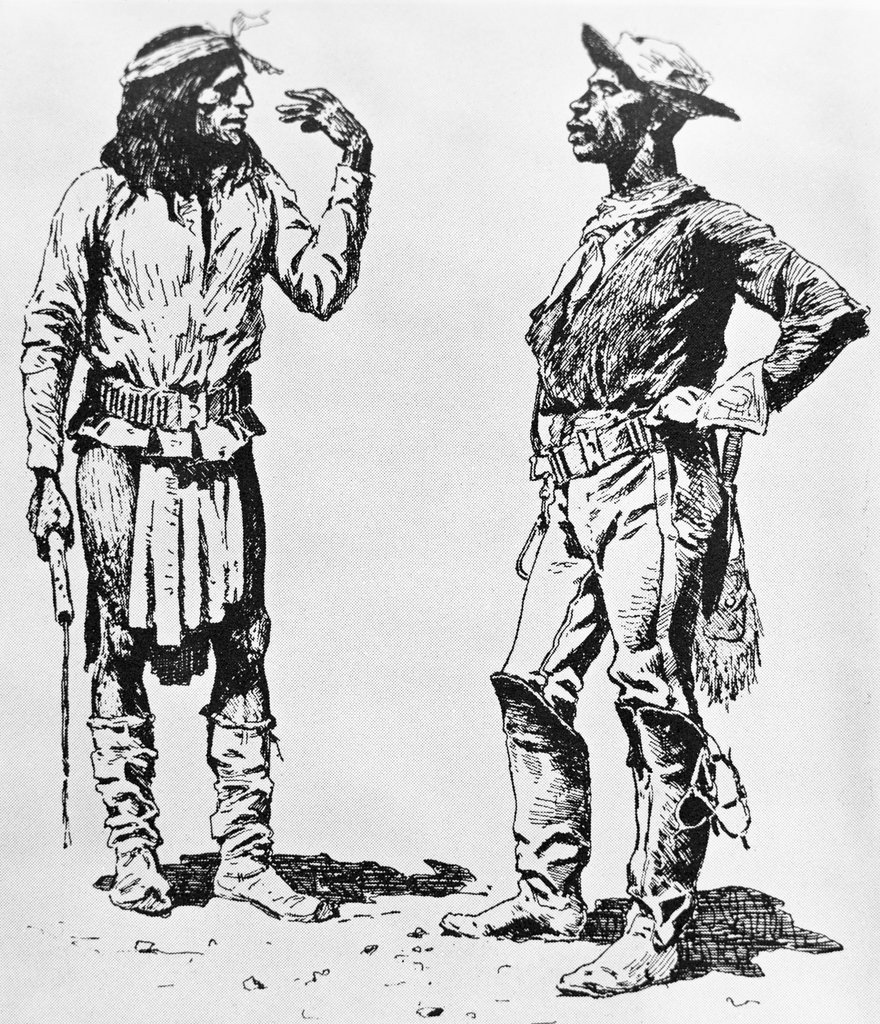 JIM CROW-FEATHER (Racism against 'black' Native Americans