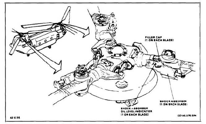 1-58 SERVICE ROTARY-WING SHOCK ABSORBER