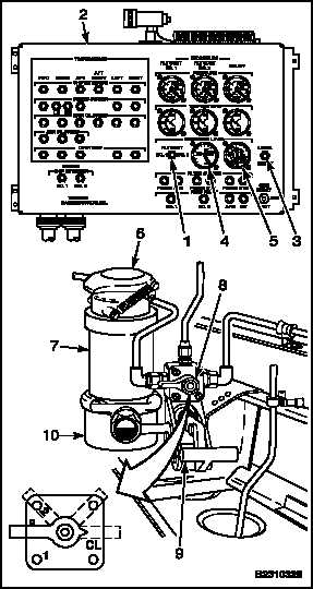 1-62 MANUAL SERVICE HYDRAULIC SYSTEM RESERVOIR (Continued)