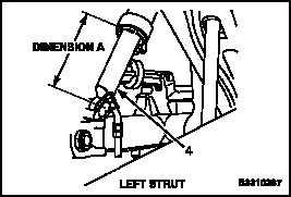 1-72 SERVICE AFT LANDING GEAR SHOCK STRUT (AIR) (Continued)