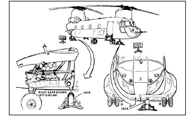 JACK ENTIRE HELICOPTER