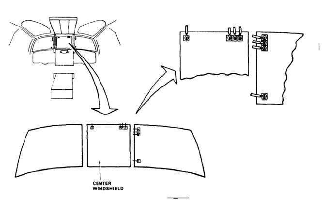 TEST CENTER WINDSHIELD ANTI-FOGGING ELEMENT