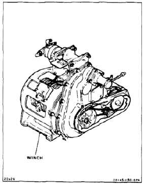 REMOVE CLUTCH CHAIN AND ROLLER CHAINS (AVIM)