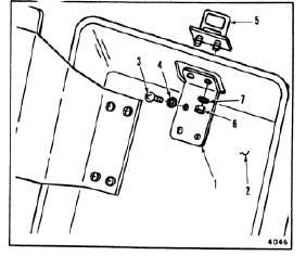 INSTALL CARGO HOOK MANUAL RELEASE LEVER (Continued)
