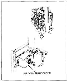 REMOVE AIR DATA TRANSDUCER