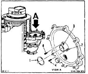 REMOVE GENERATOR DRIVE SHAFT SEAL FROM AFT TRANSMISSION