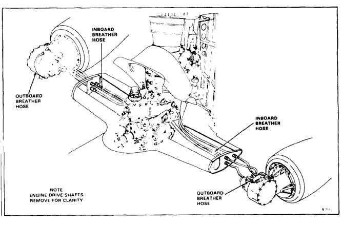 Inboard motor transmission