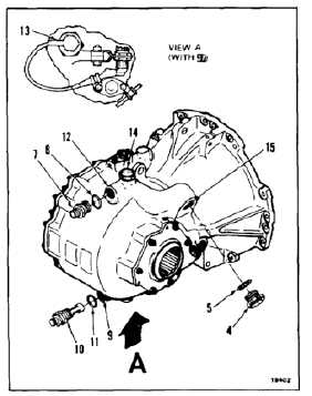 ASSEMBLE (BUILD UP) RIGHT ENGINE TRANSMISSION (Continued)