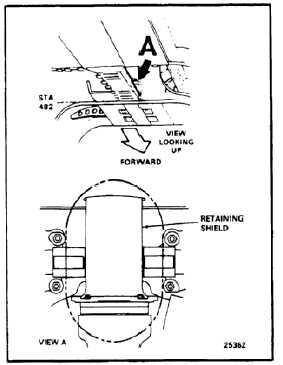 COMBINING TRANSMISSION OIL COOLER FAN DRIVE SHAFT