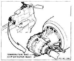 INSTALL ENGINE TRANSMISSION CHIP DETECTOR PLUG