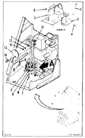 INSTALL APU GENERATOR CURRENT TRANSFORMER FORWARD (Continued)