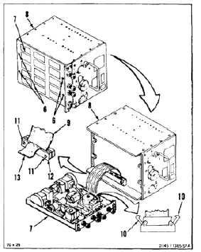 DISASSEMBLE AFCS COMPUTER UNIT (CONTROL BOX) (AVIM