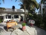 Rear Patio - Posada Amor - Puerto Morelos