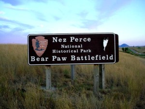 Nez Perce National Historic Park - Bear Paw Battlefield