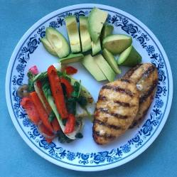 chicken-avacado-and-veg-ben-redgell