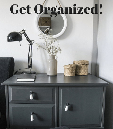 Don't miss these New Year's Tips on Organizing Your Home