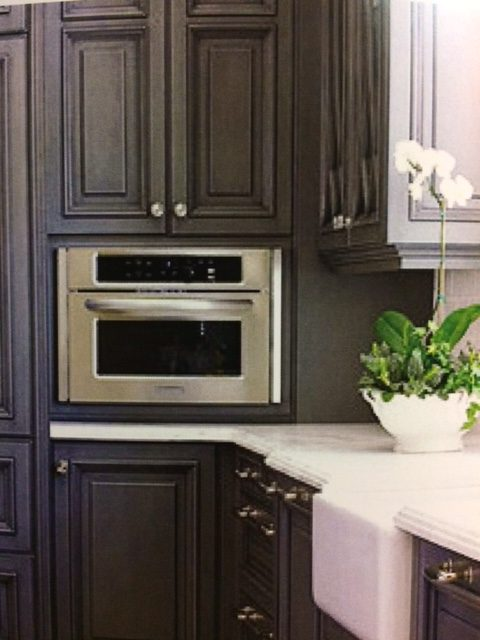 kitchen cabinets gray