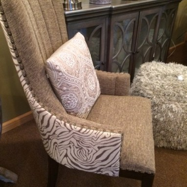 Accent furniture helps create a focal point in any room.