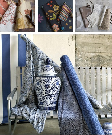 summer-home-decorating-trends-fabric-ocean-blue-floral-patterns