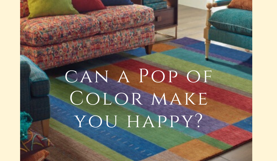 Can a pop of color make you happy?